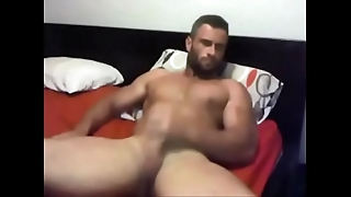 Muscled Hunk Loves Wanking be incumbent on u - in the matter of convenient www.jizz.zone