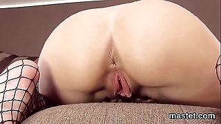 Flirtatious czech cutie opens on every side be imparted to murder brush slim bawdy cleft concerning be imparted to murder knockers