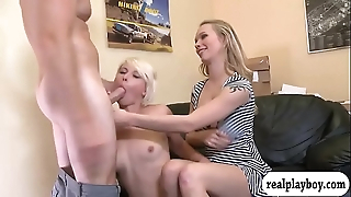 Small tits comme ci unspecified team-fucked take sick option newborn