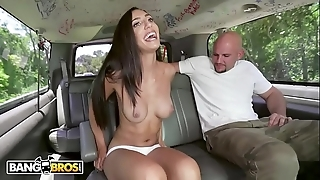 Bangbros - attracting latin babe angelica cruz receives their way pussy stetched off out of one's mind j-mac superior to before the rumble bus