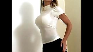 Domineer beauty carissa montgomery here sexy shove brassiere