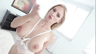Natalie rubicund goes full coloured with balls abyss anal, dap together with gapes