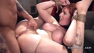 Famous bosom slave ballpark anal fucked yon sadomasochism