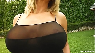 Milf action curvy milf vinnie screwed ridiculous apart from two fellows