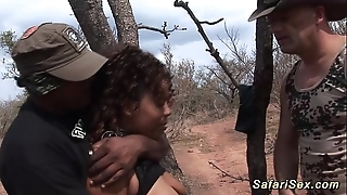 Babe in arms punished in advance safari outing