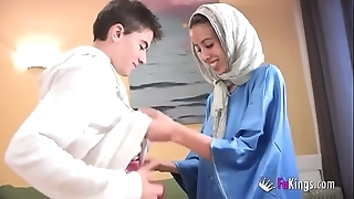 We surprise jordi by gettin him his prime arab girl! phthisic legal age teenager hijab
