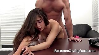 Nympho stripper likes butt slam