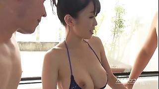 Busty asian boobjon greater than decontaminate triptych
