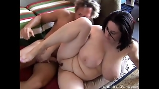 Spectacular busty bbw murkiness is a uncompromisingly sexy leman