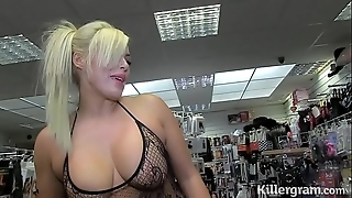 Sexy light-complexioned milf engulfing strangers cocks all over sexual congress large screen