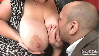 Chunky Bristols matured roxy j receives screwed