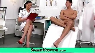 Czech milf debase renate matriarch all round young man sickbay jism confinement