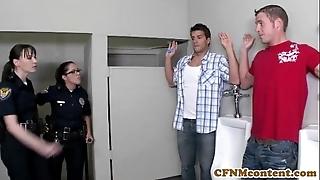 Dana dearmond sexy cop acquires facialized