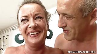 Granny slut squirts