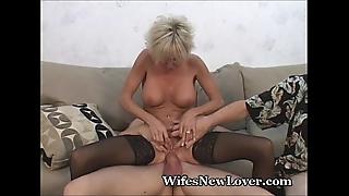 Senior milf satisfied by juvenile lover