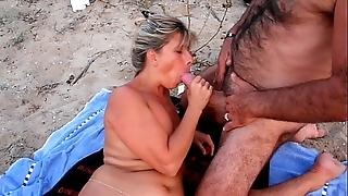 Crude cuckold strand