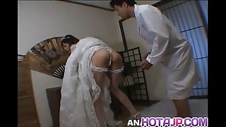 Kaoruko wakaba receives rough have sexual intercourse
