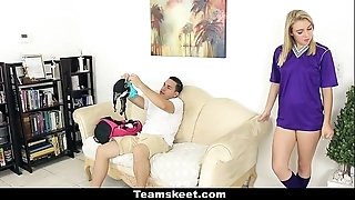 Cfnmteens - soccer pamper acquires screwed take will not hear of camiknickers above