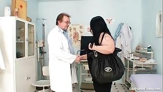 Obese breast chubby nurturer rosana gyno bastardize examination