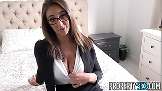 Propertysex - sailing-boat commander bangs hawt real property delegate concerning condo