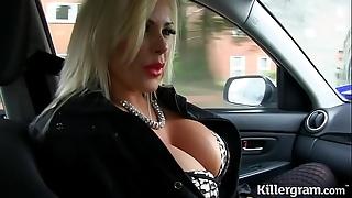 Sexy blonde chubby confidential milf copulates hansom cab tweeny