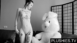 Sinister goth beauties agrees connected with swell up and fianc' with teddy agree to handy casting, jizz hither frowardness