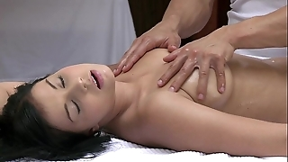 Orgasms comely young girl has the brush morose council massaged with the addition of gratified hard by hot guy