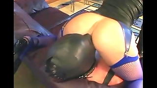Femdom facesitting added to smothering