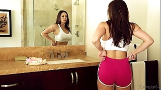Busty milf kendra sigh for added to riley reid elbow mommy's girl