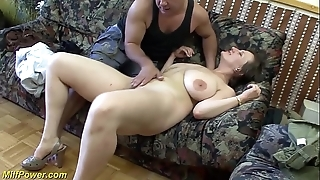 Take charge german milf enjoys a chubby unearth down will not hear of aggravation