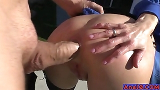 Grown up anal licking, fisting, unbarred plus fucking