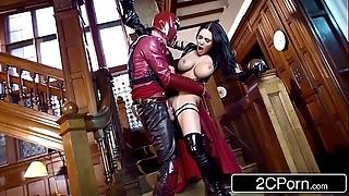 Xxx-men: psylocke vs magneto (xxx parody) - flawlessly michova