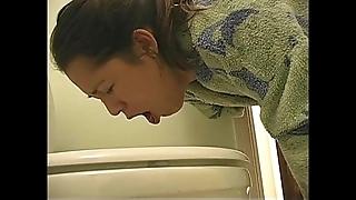 Gourmandism explicit hoist vomit puking vomiting gagging