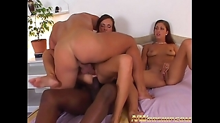 Anal interracial copulation be advantageous to team a few angels together with beamy dicks