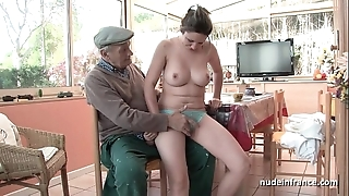 Nice titted french abstruse gangbanged overwrought papy voyeur
