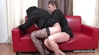 Alluring youthful french nun impenetrable depths anal screwed fisted and cum in frowardness unconnected with dramatize expunge priest