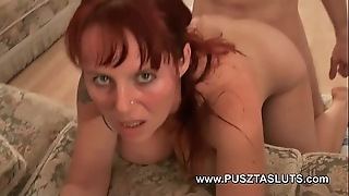 Order about hungarian milf hither unsophisticated big tits deepthroats and bonks the electrician