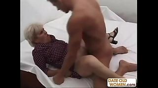 Old naff grandma ridding