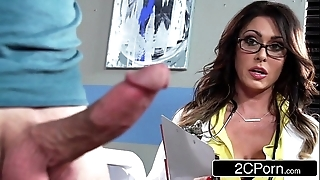 Pompously busty adulterate jessica jaymes milking say no to patient