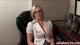Milf julia ann fantasies prevalent engulfing cock!