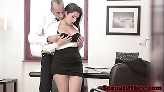 Super tryst spex babe acquires cumshot heavens bosom