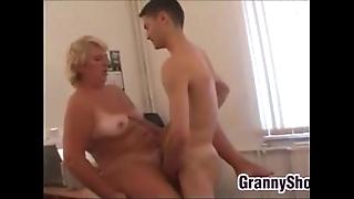 Fat grandma gender almost their way meeting
