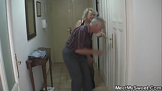 Perverted parents be thrilled by his gf