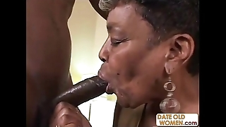 Nefarious granny receives some youthful cock