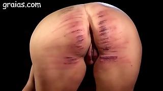 Explicit ass choppy caned
