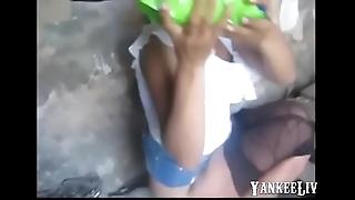 Street bungle had hardly any condoms added to copulates bareback