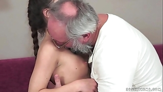 Teenie anita bellini acquires fucked by a grand-dad