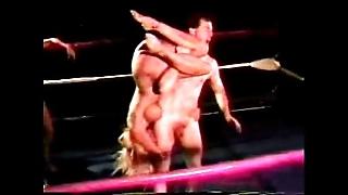 Nude mixed wrestling - jennifer tia vs mike plus jake - 1