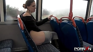 Pornxn public pissing relative to yoga panties