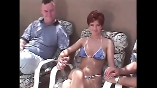 Uncivil become angry redhead swinger Three-some